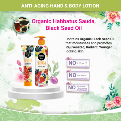 G9 Good Virtues Co Anti-Aging Hand & Body Lotion 300ml